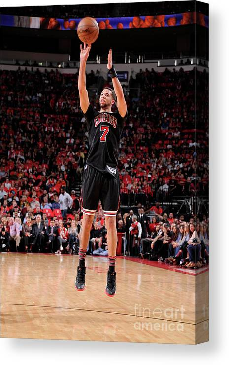 Nba Pro Basketball Canvas Print featuring the photograph Michael Carter-williams by Bill Baptist