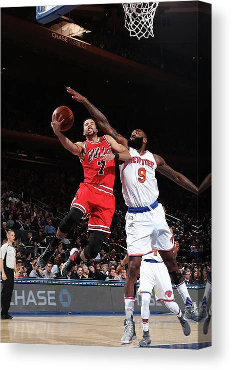 Nba Pro Basketball Canvas Print featuring the photograph Michael Carter-williams by Nathaniel S. Butler