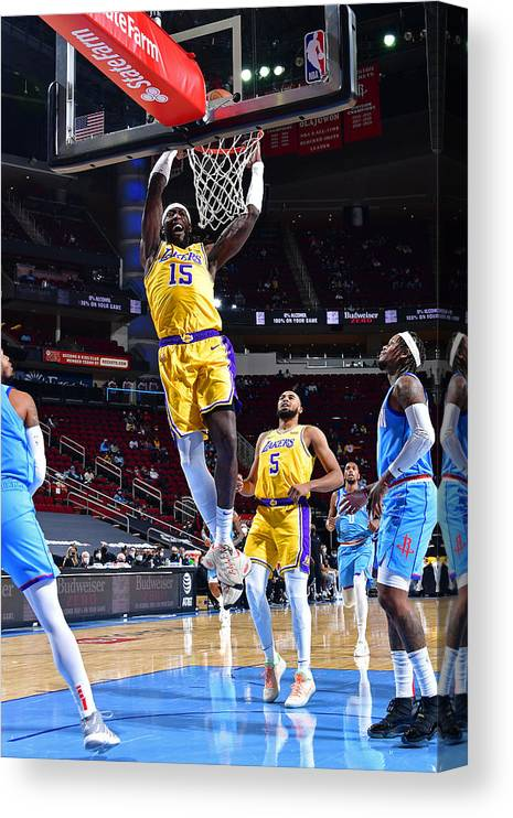 Nba Pro Basketball Canvas Print featuring the photograph Montrezl Harrell by Cato Cataldo