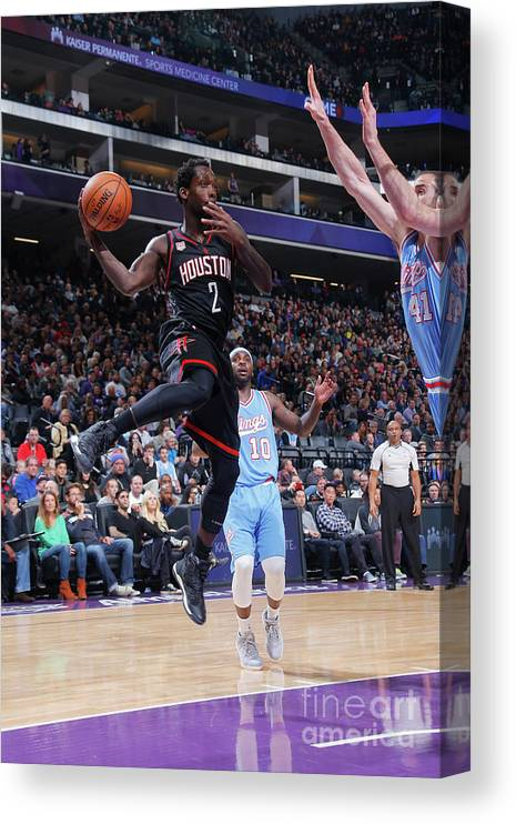 Nba Pro Basketball Canvas Print featuring the photograph Patrick Beverley by Rocky Widner