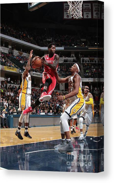 Nba Pro Basketball Canvas Print featuring the photograph Patrick Beverley by Ron Hoskins