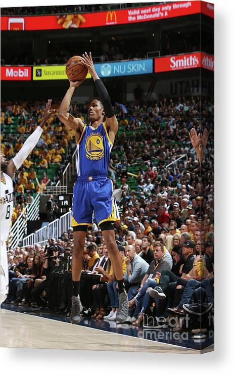 Playoffs Canvas Print featuring the photograph Patrick Mccaw by Melissa Majchrzak