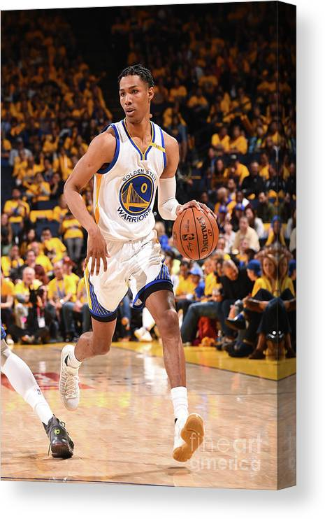 Playoffs Canvas Print featuring the photograph Patrick Mccaw by Noah Graham