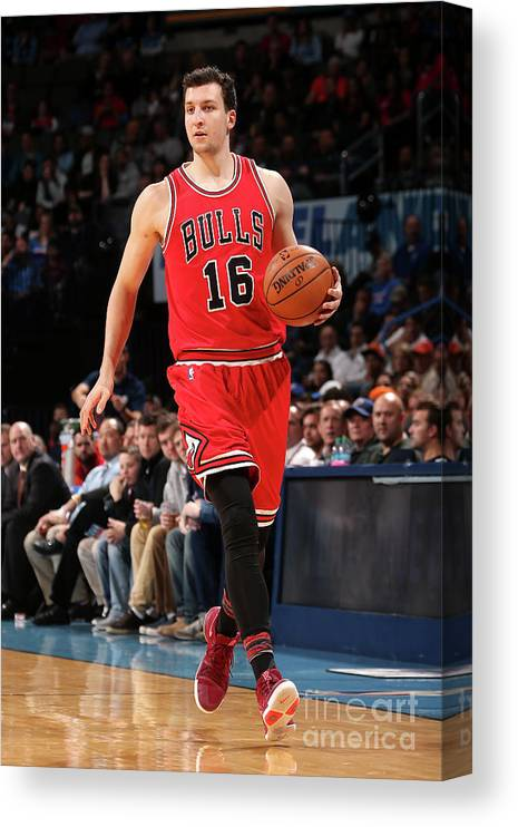 Nba Pro Basketball Canvas Print featuring the photograph Paul Zipser by Layne Murdoch