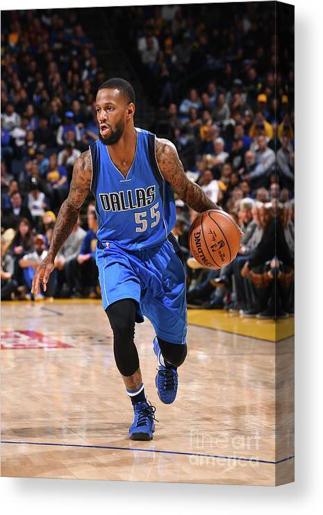 Nba Pro Basketball Canvas Print featuring the photograph Pierre Jackson by Noah Graham
