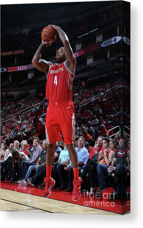 Nba Pro Basketball Canvas Print featuring the photograph P.j. Tucker by Layne Murdoch