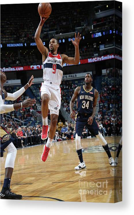 Smoothie King Center Canvas Print featuring the photograph Ramon Sessions by Layne Murdoch Jr.