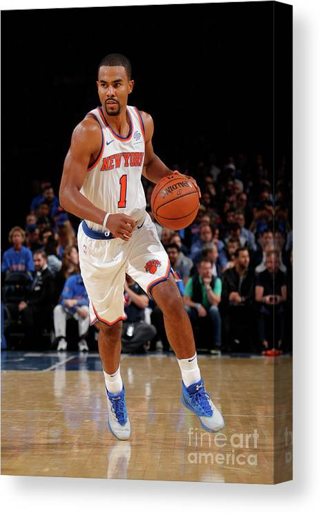 Nba Pro Basketball Canvas Print featuring the photograph Ramon Sessions by Nathaniel S. Butler
