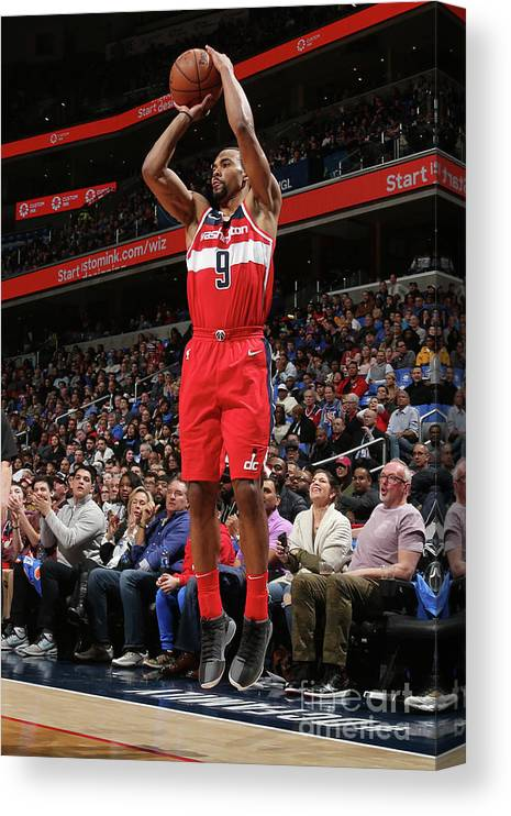 Nba Pro Basketball Canvas Print featuring the photograph Ramon Sessions by Ned Dishman