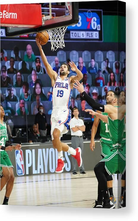 Playoffs Canvas Print featuring the photograph Raul Neto by Jesse D. Garrabrant