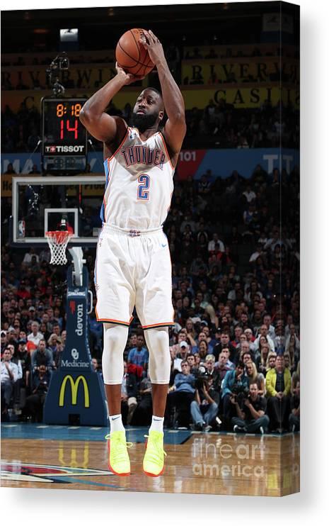 Nba Pro Basketball Canvas Print featuring the photograph Raymond Felton by Joe Murphy