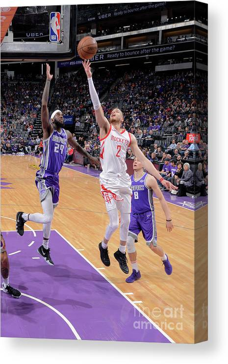Nba Pro Basketball Canvas Print featuring the photograph R.j. Hunter by Rocky Widner