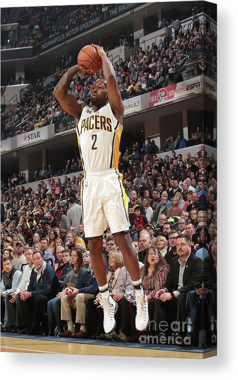 Nba Pro Basketball Canvas Print featuring the photograph Rodney Stuckey by Ron Hoskins