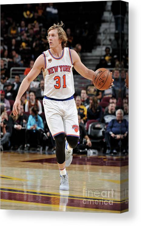 Nba Pro Basketball Canvas Print featuring the photograph Ron Baker by David Liam Kyle