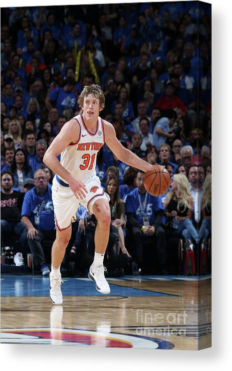 Nba Pro Basketball Canvas Print featuring the photograph Ron Baker by Layne Murdoch