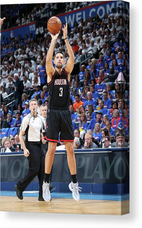 Playoffs Canvas Print featuring the photograph Ryan Anderson by Layne Murdoch