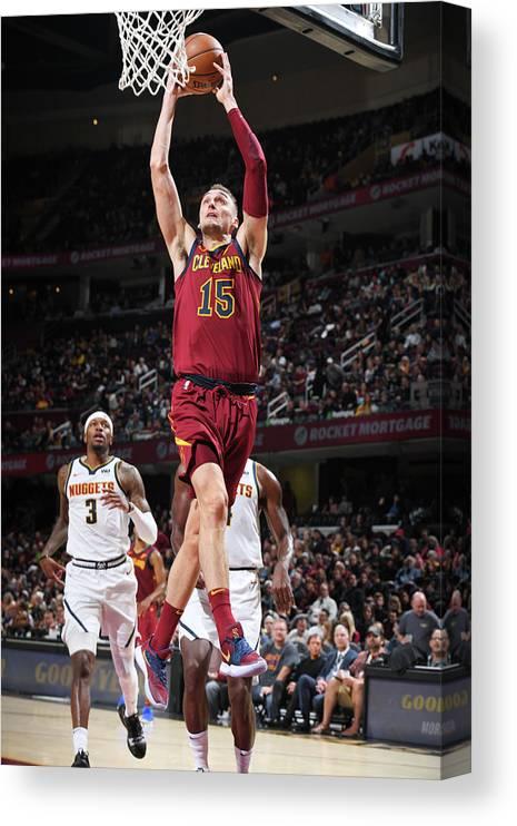 Nba Pro Basketball Canvas Print featuring the photograph Sam Dekker by Garrett Ellwood