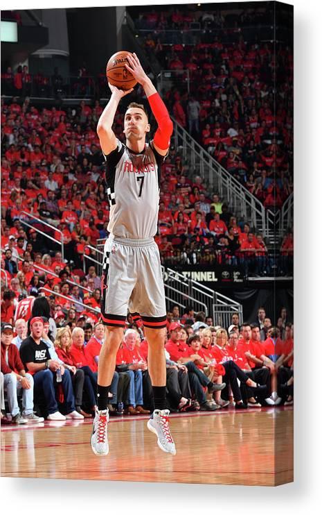 Playoffs Canvas Print featuring the photograph Sam Dekker by Jesse D. Garrabrant