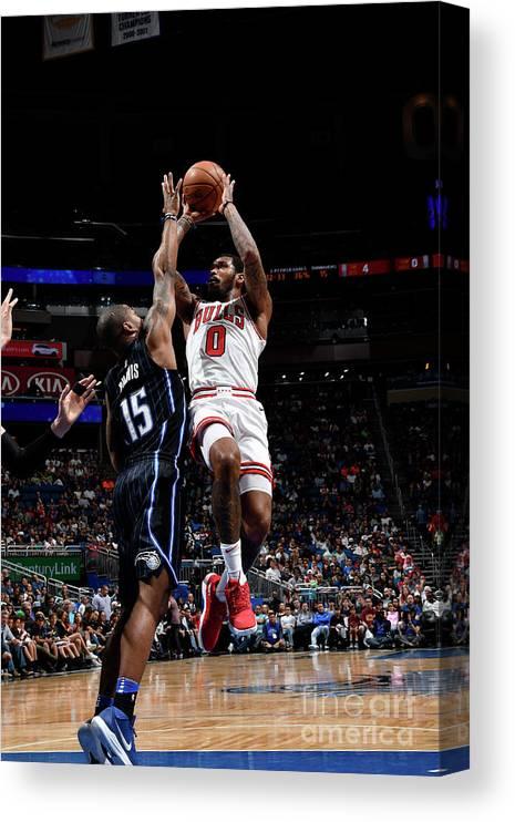 Nba Pro Basketball Canvas Print featuring the photograph Sean Kilpatrick by Fernando Medina