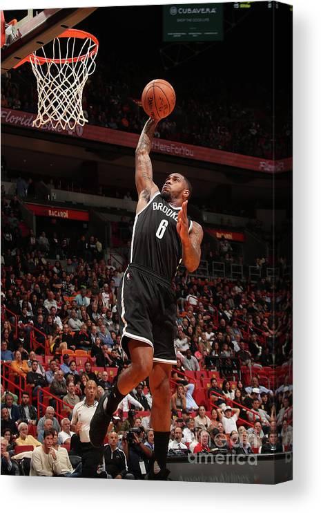 Nba Pro Basketball Canvas Print featuring the photograph Sean Kilpatrick by Issac Baldizon