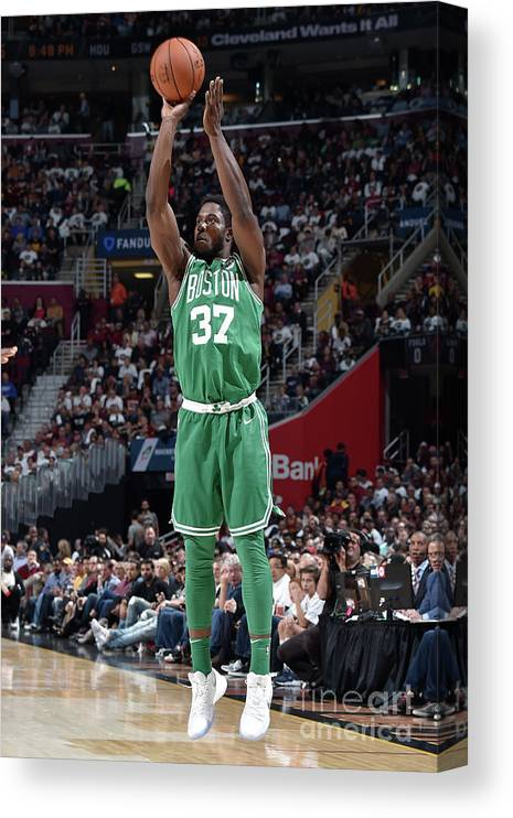 Nba Pro Basketball Canvas Print featuring the photograph Semi Ojeleye by David Liam Kyle