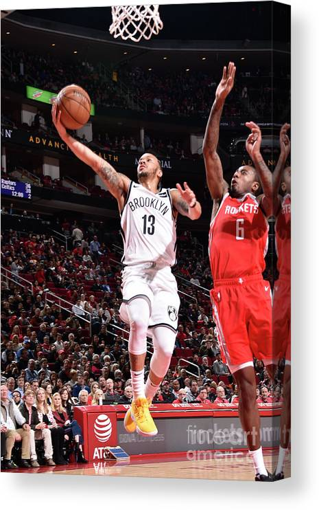 Nba Pro Basketball Canvas Print featuring the photograph Shabazz Napier by Bill Baptist
