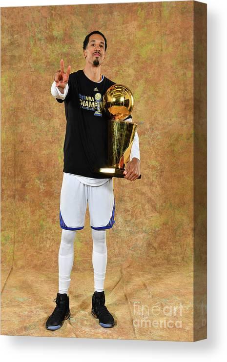 Playoffs Canvas Print featuring the photograph Shaun Livingston by Jesse D. Garrabrant