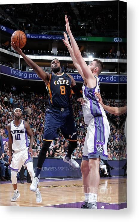 Nba Pro Basketball Canvas Print featuring the photograph Shelvin Mack by Rocky Widner