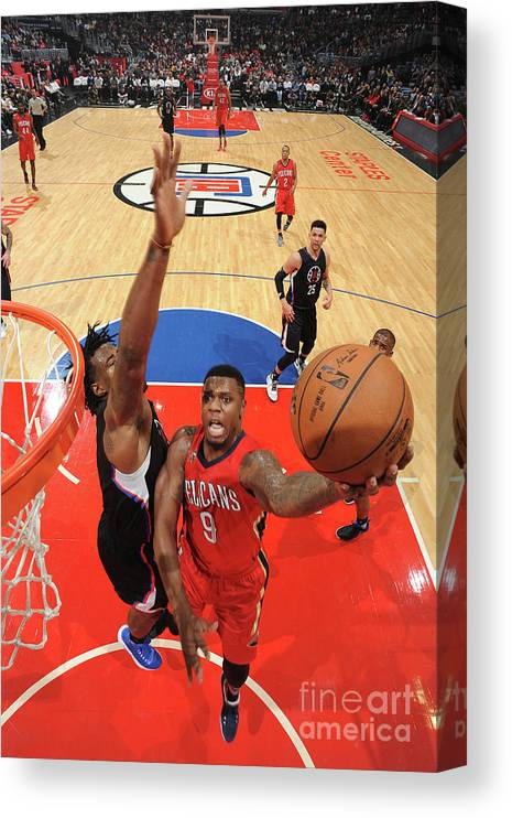 Nba Pro Basketball Canvas Print featuring the photograph Terrence Jones by Adam Pantozzi
