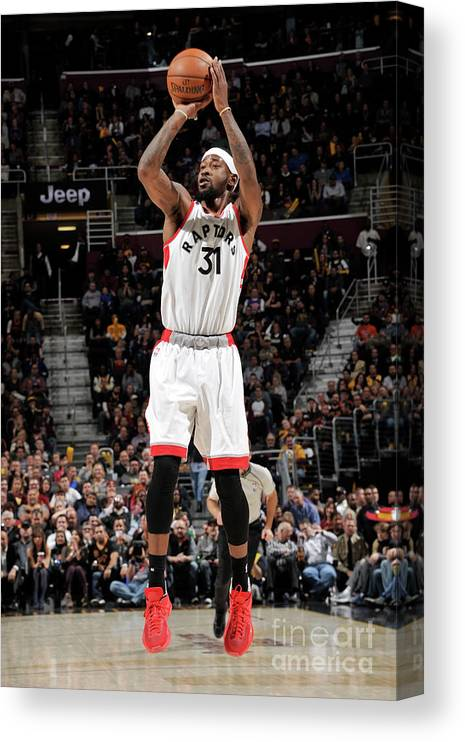 Nba Pro Basketball Canvas Print featuring the photograph Terrence Ross by David Liam Kyle