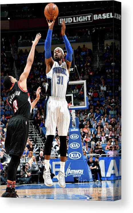 Nba Pro Basketball Canvas Print featuring the photograph Terrence Ross by Fernando Medina