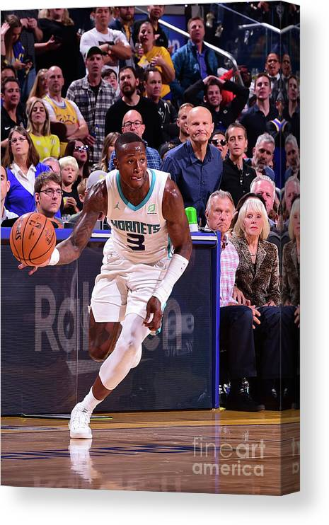 San Francisco Canvas Print featuring the photograph Terry Rozier by Noah Graham