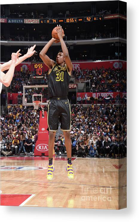 Sports Ball Canvas Print featuring the photograph Thomas Bryant by Adam Pantozzi