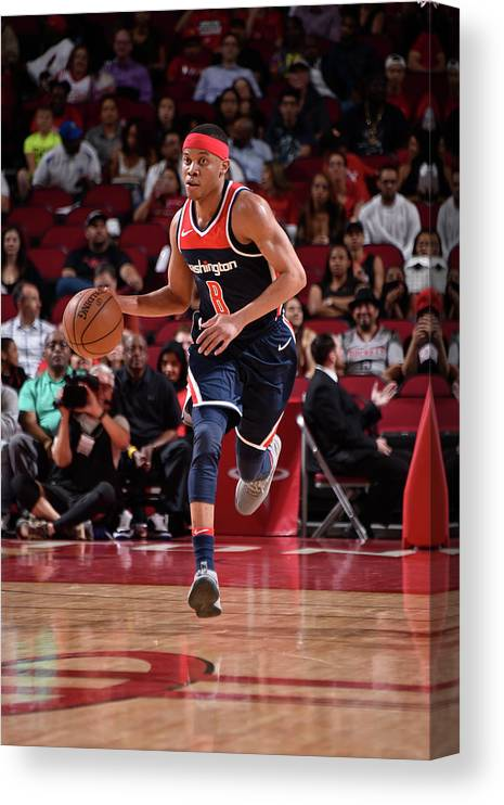Nba Pro Basketball Canvas Print featuring the photograph Tim Frazier by Bill Baptist