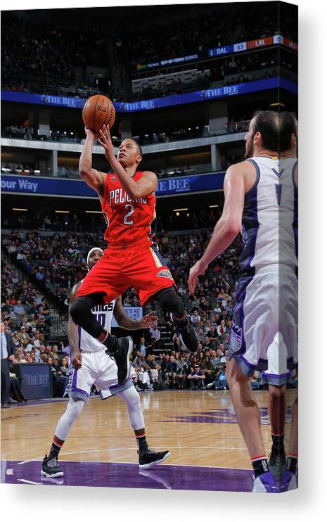 Nba Pro Basketball Canvas Print featuring the photograph Tim Frazier by Rocky Widner