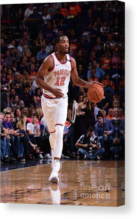 Nba Pro Basketball Canvas Print featuring the photograph T.j. Warren by Michael Gonzales