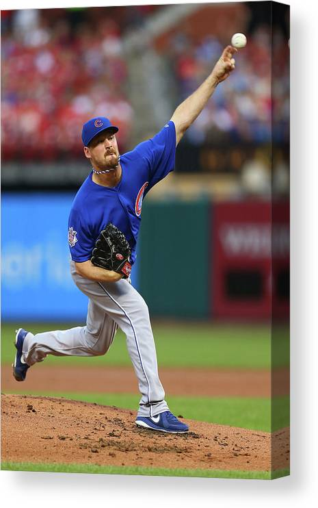 St. Louis Canvas Print featuring the photograph Travis Wood by Dilip Vishwanat