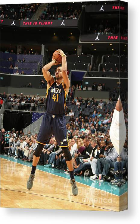 Nba Pro Basketball Canvas Print featuring the photograph Trey Lyles by Kent Smith
