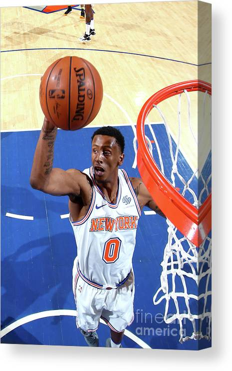 Nba Pro Basketball Canvas Print featuring the photograph Troy Williams by Nathaniel S. Butler