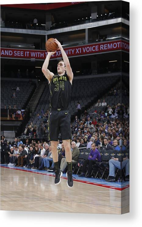 Nba Pro Basketball Canvas Print featuring the photograph Tyler Cavanaugh by Rocky Widner