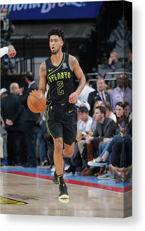 Nba Pro Basketball Canvas Print featuring the photograph Tyler Dorsey by Rocky Widner