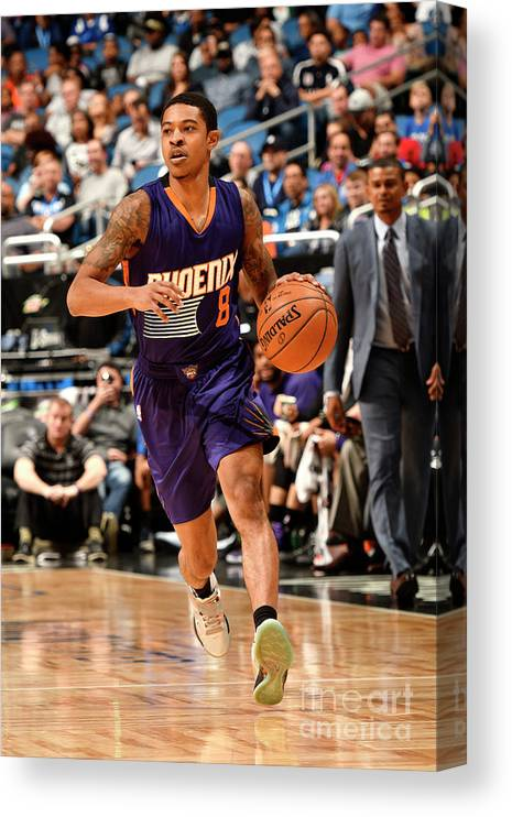 Nba Pro Basketball Canvas Print featuring the photograph Tyler Ulis by Fernando Medina