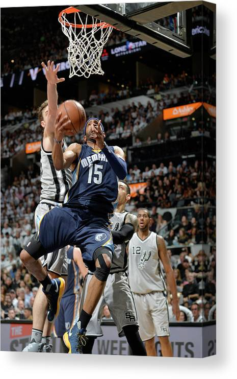 Playoffs Canvas Print featuring the photograph Vince Carter by Mark Sobhani