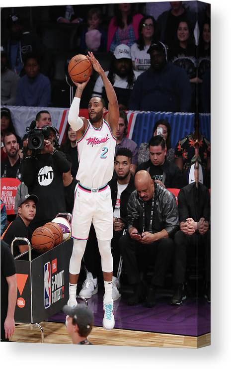 Event Canvas Print featuring the photograph Wayne Ellington by Joe Murphy