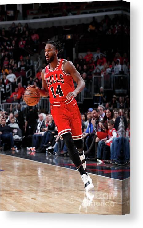 Nba Pro Basketball Canvas Print featuring the photograph Wayne Selden by Jeff Haynes