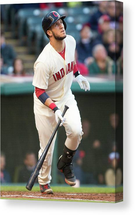 Second Inning Canvas Print featuring the photograph Yan Gomes by Jason Miller