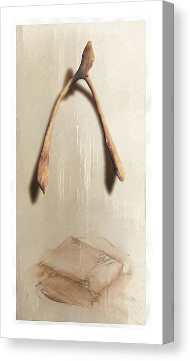 Still Life Canvas Print featuring the digital art Leftovers by Nuff