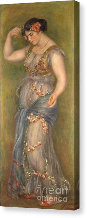 Oil Painting Canvas Print featuring the drawing Dancing Girl With Castanets, 1909 by Heritage Images