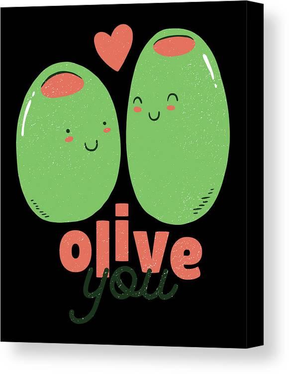 Olive You Funy Cute by Filip Kelekidis