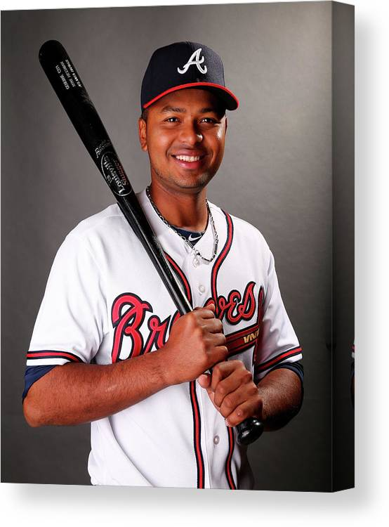 Media Day Canvas Print featuring the photograph Atlanta Braves Photo Day by Elsa